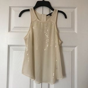 GORGEOUS SEQUIN TANK TOP BLOUSE